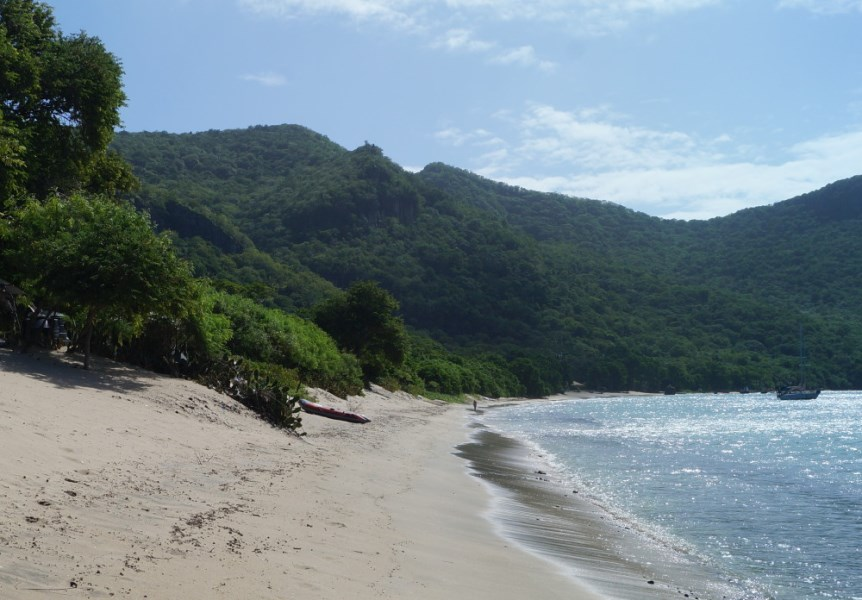 RE/MAX real estate, St. Vincent and the Grenadines, Chatham Estate, GRENADINE ISLAND 3 ACRE BEACH LOT
