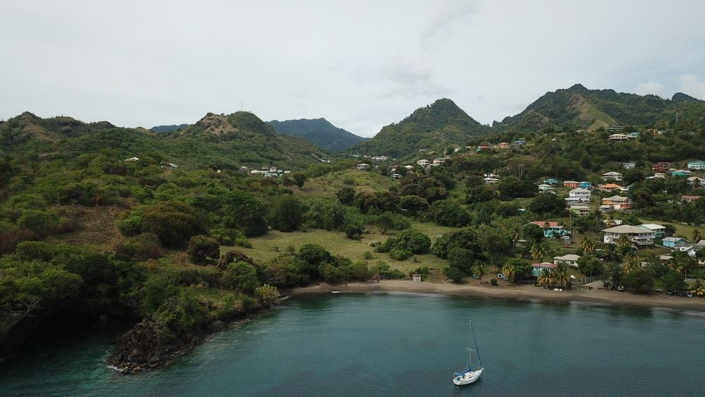 RE/MAX real estate, Saint Vincent and the Grenadines, Questelles, 4.7 ACRE BEACH FRONT LOT