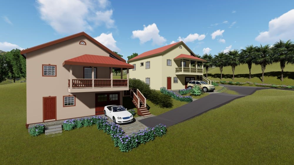 RE/MAX real estate, Saint Vincent and the Grenadines, Diamond Village, Lot 1 & 2  NEW CONSTRUCTION  Diamond Heights