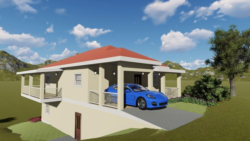 RE/MAX real estate, St. Vincent & Grenadines, Diamond Village,  NEW CONSTRUCTION   Lot 3 Diamond Heights