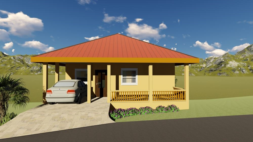 RE/MAX real estate, Saint Vincent and the Grenadines, Diamond Village, NEW CONSTRUCTION     Lot 5 Diamond Heights