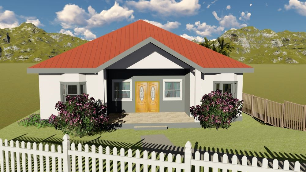 RE/MAX real estate, Saint Vincent and the Grenadines, Diamond Village, NEW CONSTRUCTION    Lot 6 Diamond Heights