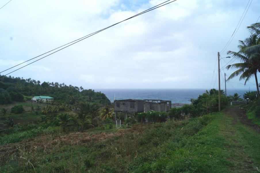 RE/MAX real estate, Saint Vincent and the Grenadines, Peruvian Vale, OCEAN VIEW LOT - PERUVIAN VALE