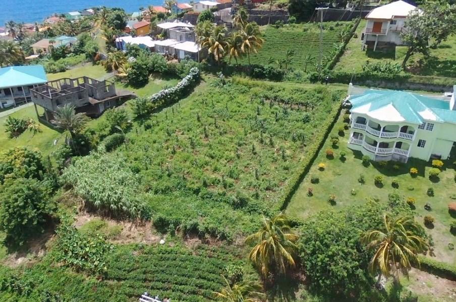 RE/MAX real estate, St. Vincent & Grenadines, Peruvian Vale, OCEAN VIEW LOT - PERUVIAN VALE