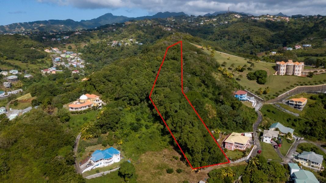 RE/MAX real estate, St. Vincent & Grenadines, Diamond Village, DIAMOND 2 ACRE SCENIC LOT