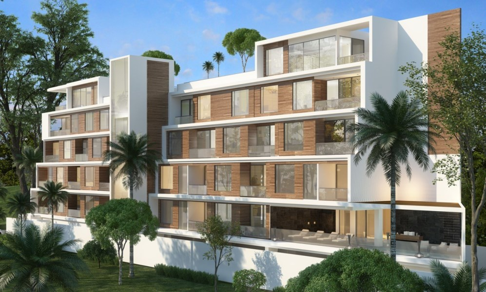 Remax real estate, Costa Rica, Jaco, Residential Condominiums in 2 twin buildings in Jaco