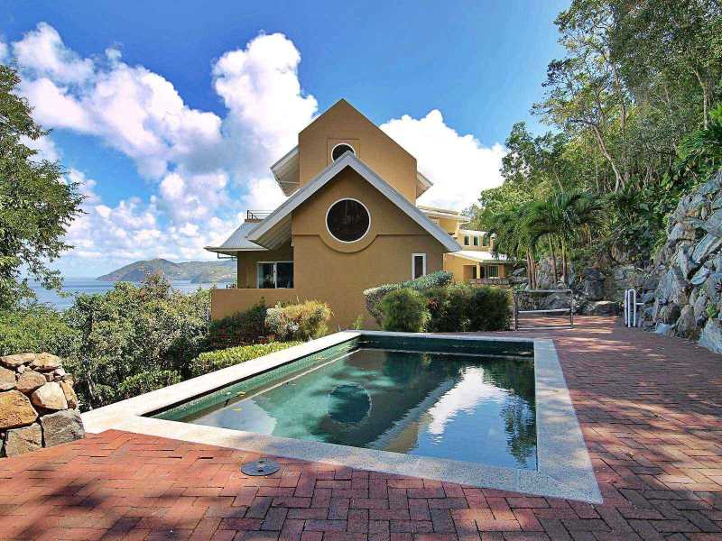RE/MAX real estate, British Virgin Islands, Belmont Estates, Private Luxury  4-br Home in Belmont Estate, Tortola [HS-525]