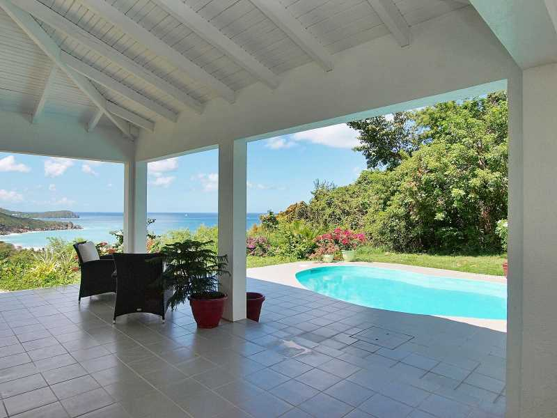 RE/MAX real estate, British Virgin Islands, Lambert Beach, Turtle Bay Beach Resort 3-Bed Villa with Pool [HS-586]