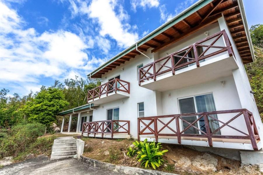 RE/MAX real estate, British Virgin Islands, Lambert Beach, Wyndham Lambert Resort Villa 38, 4-br above Spectacular Lambert Beach [HS-594]