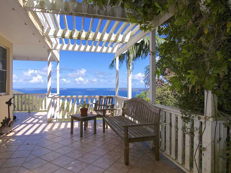 RE/MAX real estate, British Virgin Islands, Nanny Cay, Modern Family 4-Bed Home near Nanny Cay in the Hills [HS-671]