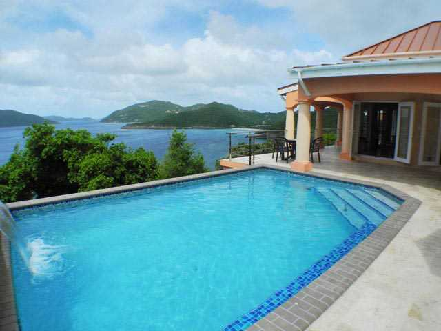 RE/MAX real estate, British Virgin Islands, Pomento Point,  Luxury 4-Br Home at Cooten Bay North Central Shore Tortola, BVI