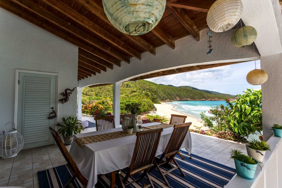 RE/MAX real estate, British Virgin Islands, Lambert Beach, Spacious, Luxury Lambert Beachfront 4 Bedroom Villa with Pool, Tortola, BVI