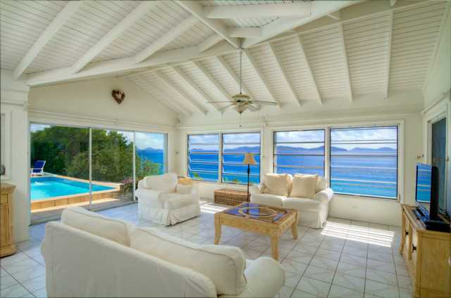 RE/MAX real estate, British Virgin Islands, Nanny Cay, Havers Hill 3-Bed Home with Pool near Nanny Cay [HS-232]