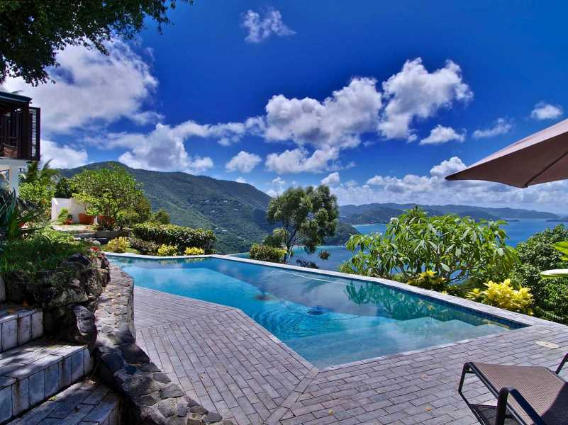 RE/MAX real estate, British Virgin Islands, Cane Garden Bay,  Amazing Very Private 4 Bed Home with 3 Acres Land Luck Hill, Tortola, BVI
