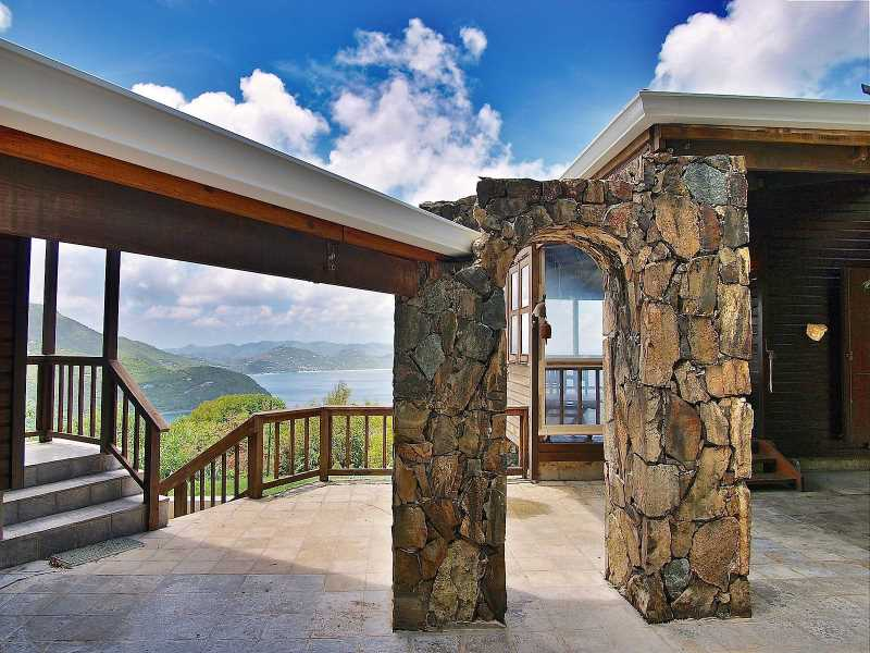 RE/MAX real estate, British Virgin Islands, Cane Garden Bay, 1+ acre Villa w/ Stunning Views & Privacy - Luck Hill [HS-817]