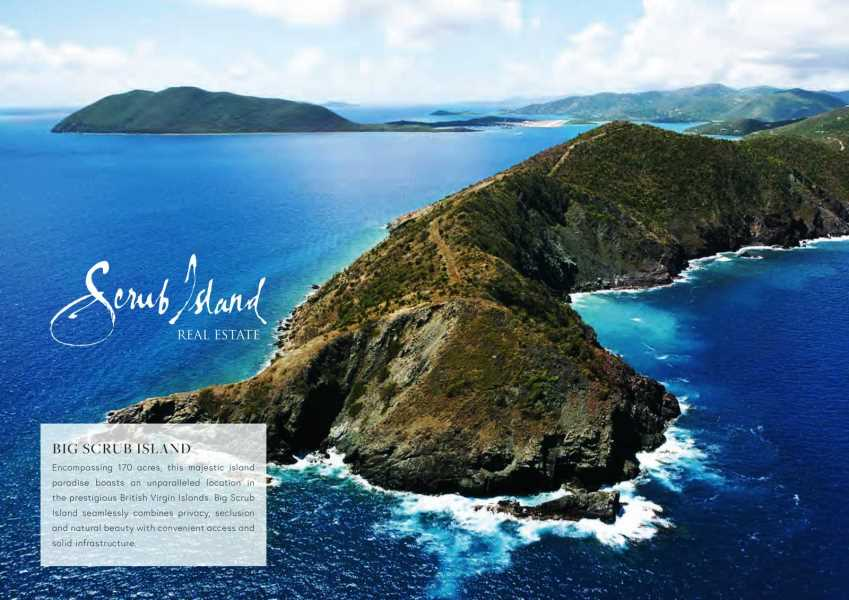 RE/MAX real estate, British Virgin Islands, Scrub Island, Private 170-acre Island For Sale - Big Scrub Island, BVI [LS-900]