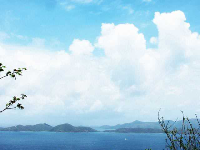RE/MAX real estate, British Virgin Islands, West End, Havers Hill Land Lot Very Gentle Grade Fantastic 280 Degree Views [LS-221]