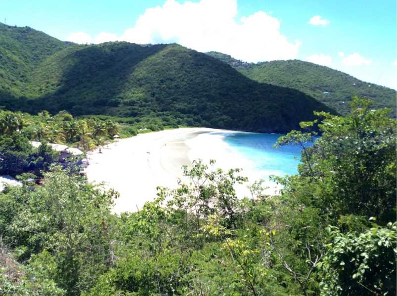 RE/MAX real estate, British Virgin Islands, Josiah's Bay, Waterfront Land at Surfing Beach Josiah's Bay US $ 375,000 [LS-415]