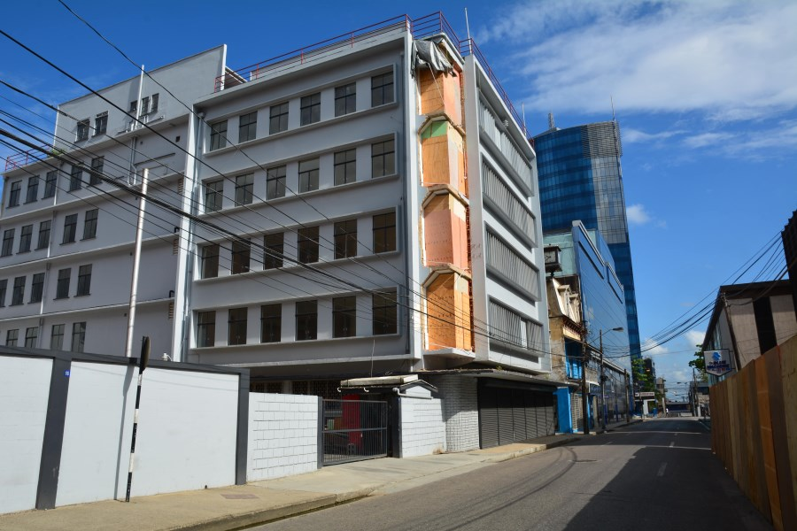 RE/MAX real estate, Trinidad and Tobago, Port-of-Spain, 5 Storey Building Available, 12 Abercromby St, Port of Spain
