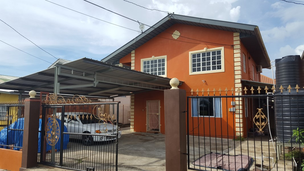 RE/MAX real estate, Trinidad and Tobago, Couva, Upstairs, 3 Bedroom Unfurnished House, Orange Valley, Couva