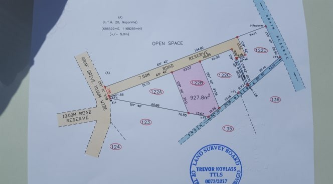 RE/MAX real estate, Trinidad and Tobago, Las Lomas, 3 lots, 10,000 s.f. Araf Drive, Las Lomas 3, All Approvals