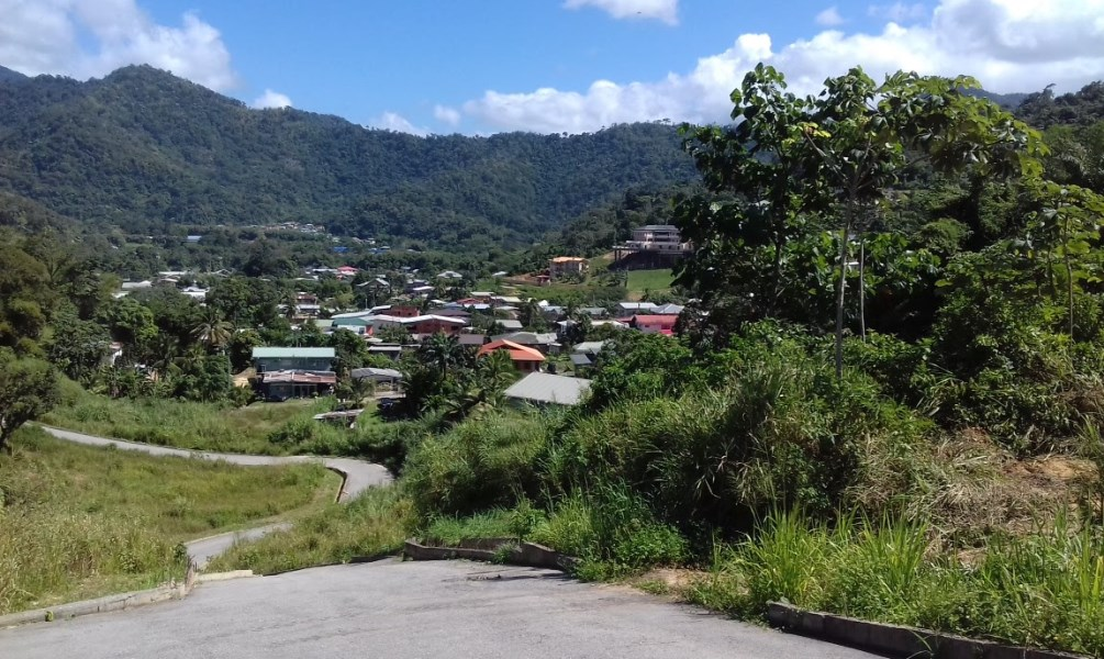 RE/MAX real estate, Trinidad and Tobago, Santa Cruz, Lot #46 9,026.61 sq.ft Freehold Land, Sam Boucaud Heights, Santa Cruz, Amazing Views