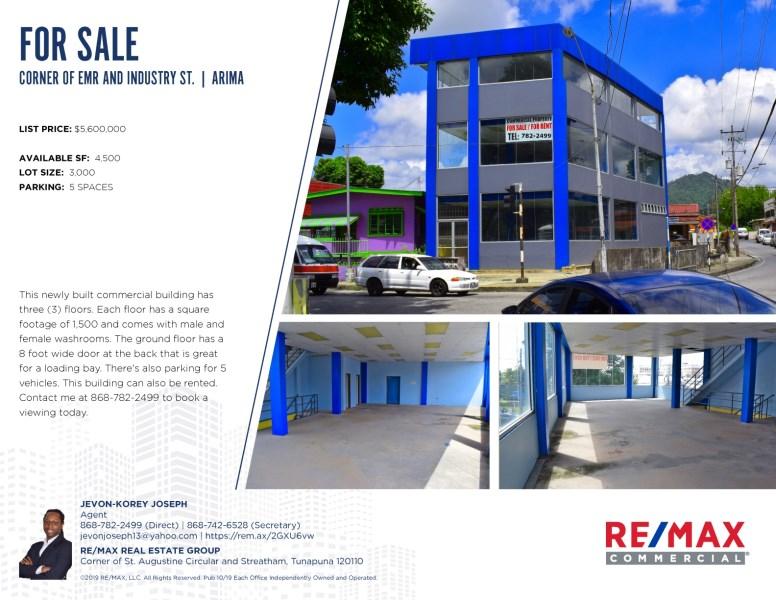 RE/MAX real estate, Trinidad and Tobago, Arima, building in arima