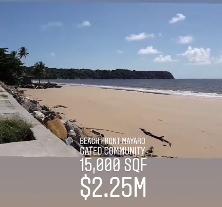 RE/MAX real estate, Trinidad and Tobago, Saint Joseph, Mayaro  Beach Front  Gated Legacy