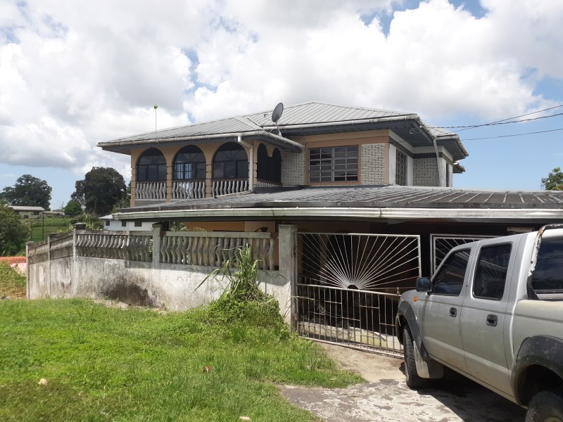 RE/MAX real estate, Trinidad and Tobago, Fyzabad, 3 storey home on 2 lots of land