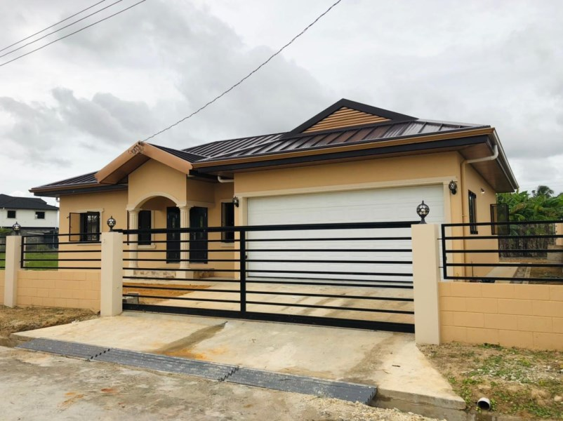 RE/MAX real estate, Trinidad and Tobago, Chaguanas, Endeavor Chaguanas - 3 Bedroom, 2 Bath House For Sale - New Construction