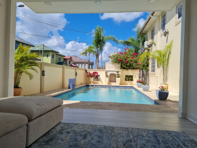 RE/MAX real estate, Trinidad and Tobago, Carapichaima, Modern 3 Bedroom House with Pool - Palm View Gardens Freeport