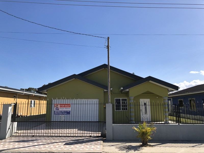 RE/MAX real estate, Trinidad and Tobago, Caroni, New 3 Bedroom House in Boy Cato - Chin Chin.