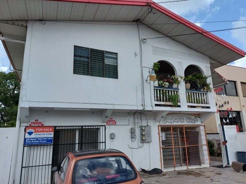 RE/MAX real estate, Trinidad and Tobago, Sangre Grande, 3 Bedroom 2 Bathroom two storey house with two commercial spaces on ground floor, Eastern Main Road, Sangre Grande