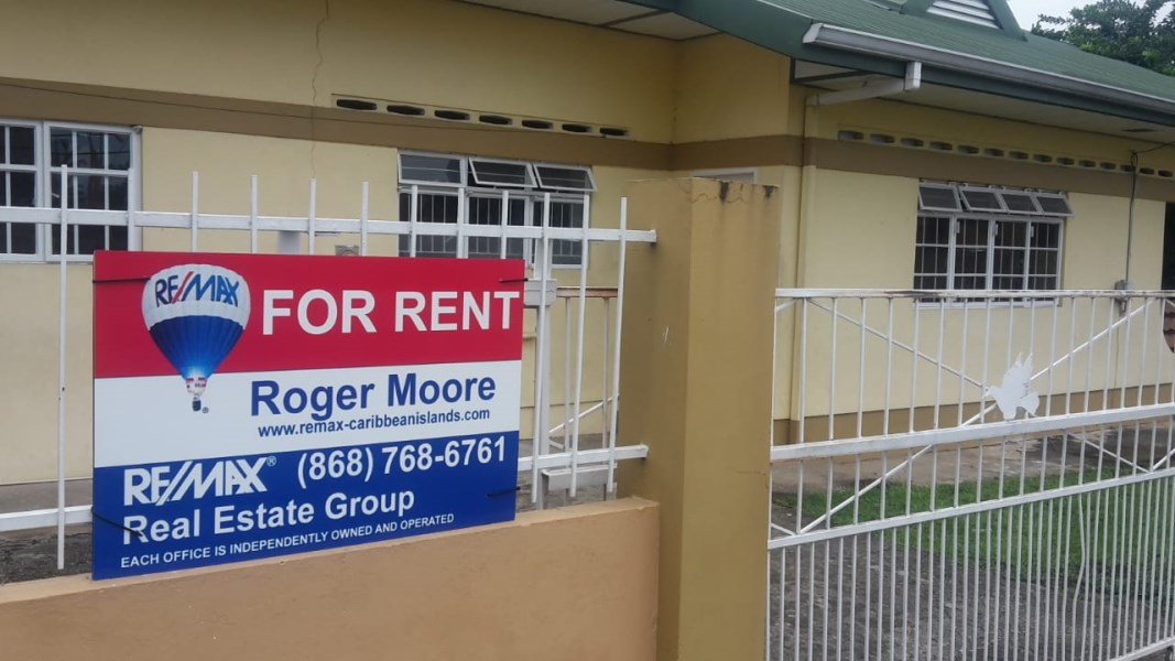 RE/MAX real estate, Trinidad and Tobago, Saint Augustine, Semi Furnished 3 Bedroom 2 Bathroom in St Augustine