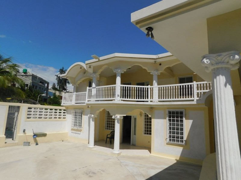 RE/MAX real estate, Haiti, Port-au-Prince, Nice Furnished 8 bedrooms House For Rent in Vivy Mitchel, Haiti