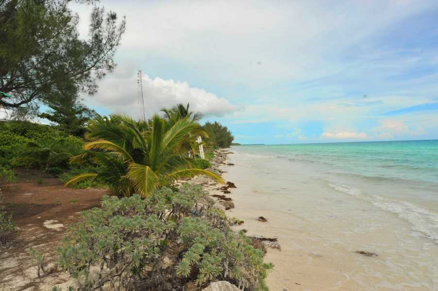 RE/MAX real estate, Bahamas, East End, AWESOME ONE ACRE BEACHFRONT WITH 150 FT OF  FRONTAGE-EAST FREEPORT  GRAND BAHAMA