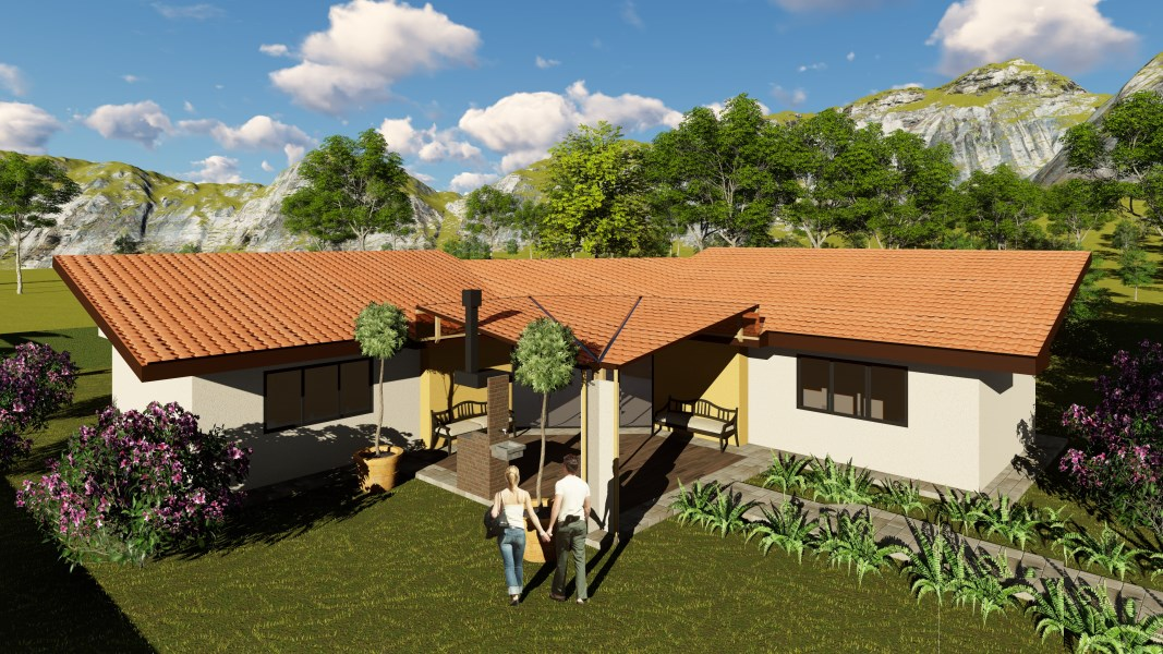 Remax real estate, Costa Rica, Ojochal, EXCITINGLY NEW! 3 bedroom home nearing completion, complete with pool and carport.