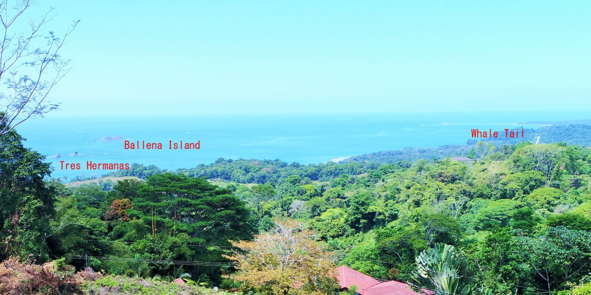 Remax real estate, Costa Rica, Ojochal, Lot with Costa Ballena ocean views and expansive jungle views just minutes from the highway