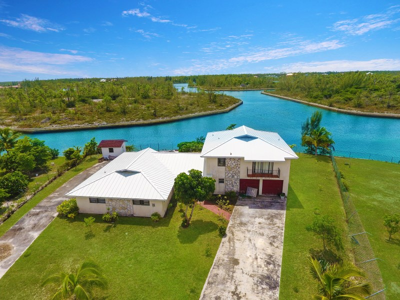 RE/MAX real estate, Bahamas, Bahamia, PINE BAY WATERFRONT HOME