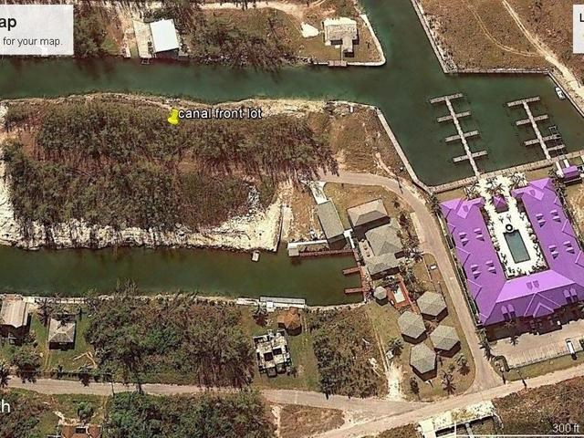 RE/MAX real estate, Bahamas, West End, NICE CANAL LOT BOOTLE BAY
