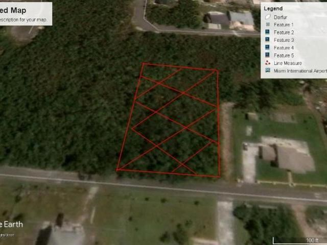 RE/MAX real estate, Bahamas, West Bay Street, TUSCULUM ESTATE LOT