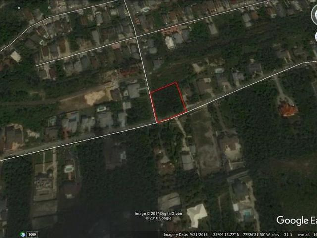 RE/MAX real estate, Bahamas, Westridge Estates, LARGE CORNER LOT WESTRIDGE