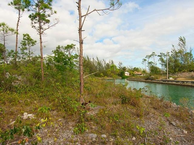 RE/MAX real estate, Bahamas, Freeport, CANAL FRONT LOT DERBY