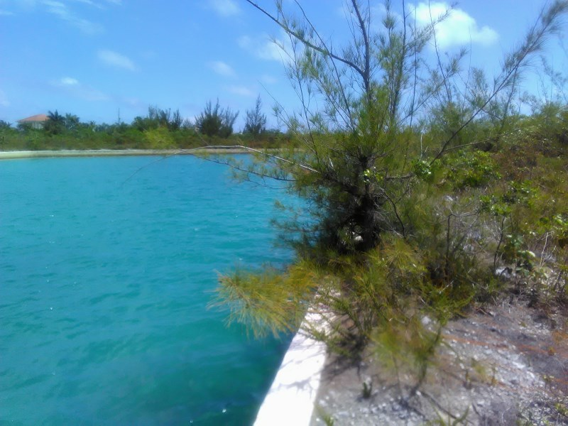 RE/MAX real estate, Bahamas, Freeport, CANAL FRONT LOT SENTINEL BAY