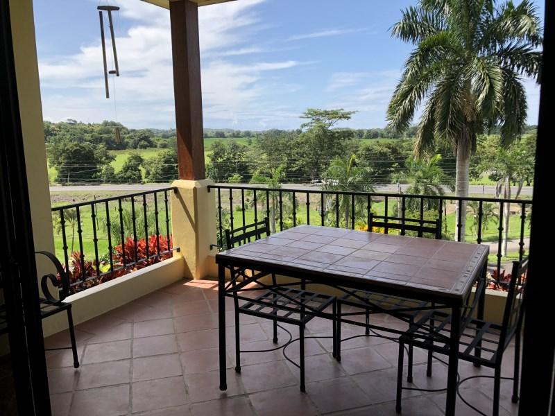 Remax real estate, Costa Rica, Esterillos Este, Beautiful furnished condominium for sale in Monterrey del Mar, Esterillos Este! The apartement has sea view and all the amenities you would like.