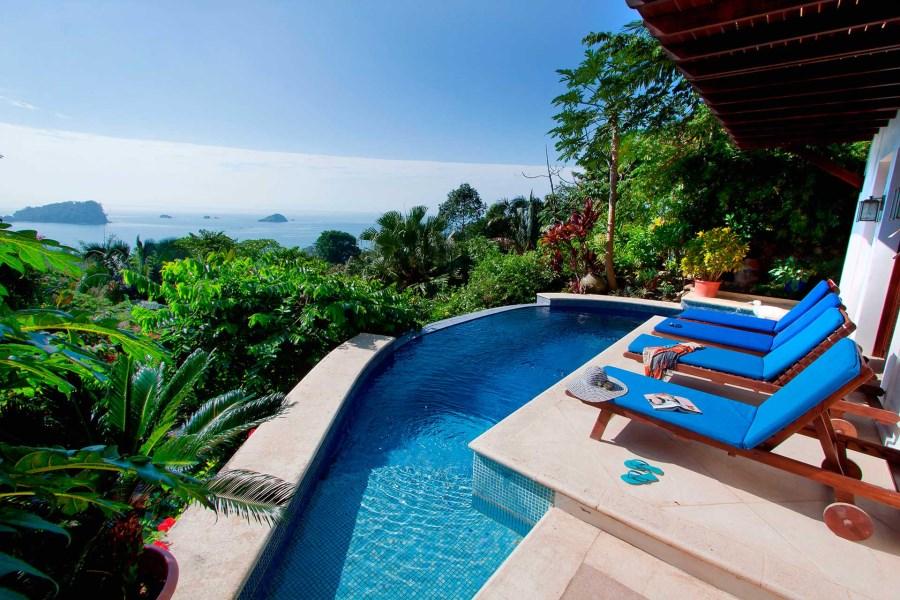 Remax real estate, Costa Rica, Manuel Antonio, Manuel Antonio: Casa Dolce Vita-Balinese style villa view stunning ocean view