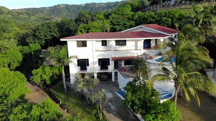 Remax real estate, Costa Rica, El Coco, Villa Santorini, Ocean View 3 Bed Home plus 2 bed Apartment. J