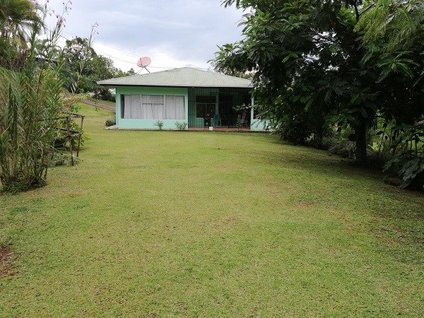 Remax real estate, Costa Rica, San Vito, Nice house, 4.5 acres, fruit trees, spring, great location. F