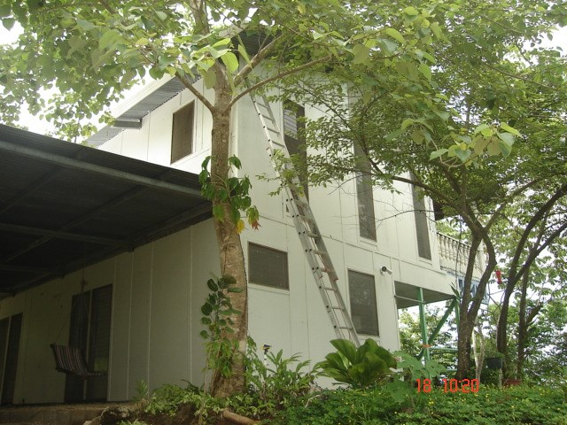 Remax real estate, Costa Rica, San Juanillo, For sale property with two houses with 180 degree mountain and ocean view in San Juanillo, Guanacaste.  Negociable price.