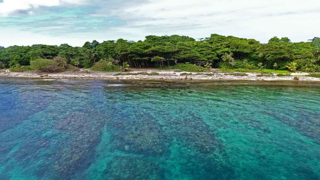 Remax real estate, Honduras, Utila, Little BightBeachfront Homesite A